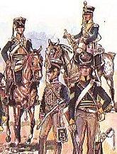 British Cavalry Napoleonic Wars Guards Dragoons