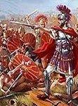 Julius Caesar In Battle According to Julius Caesar